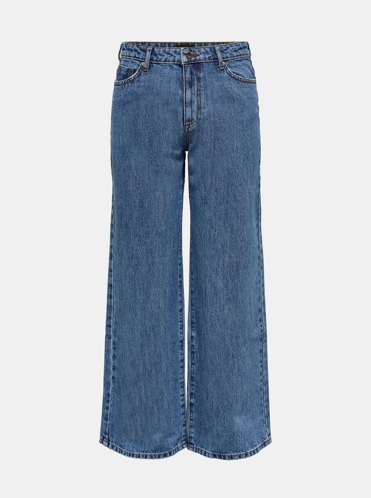 Modré široké džíny ONLY
