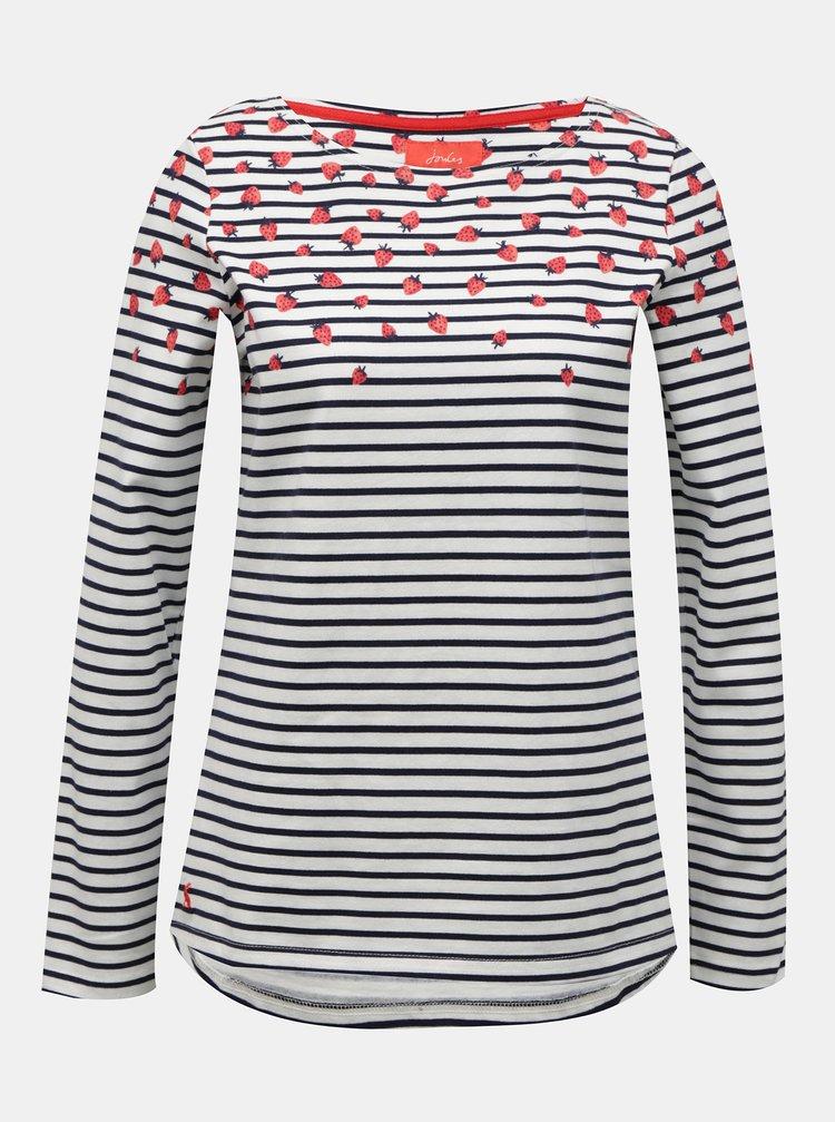 Bílé dámské pruhované tričko Tom Joule