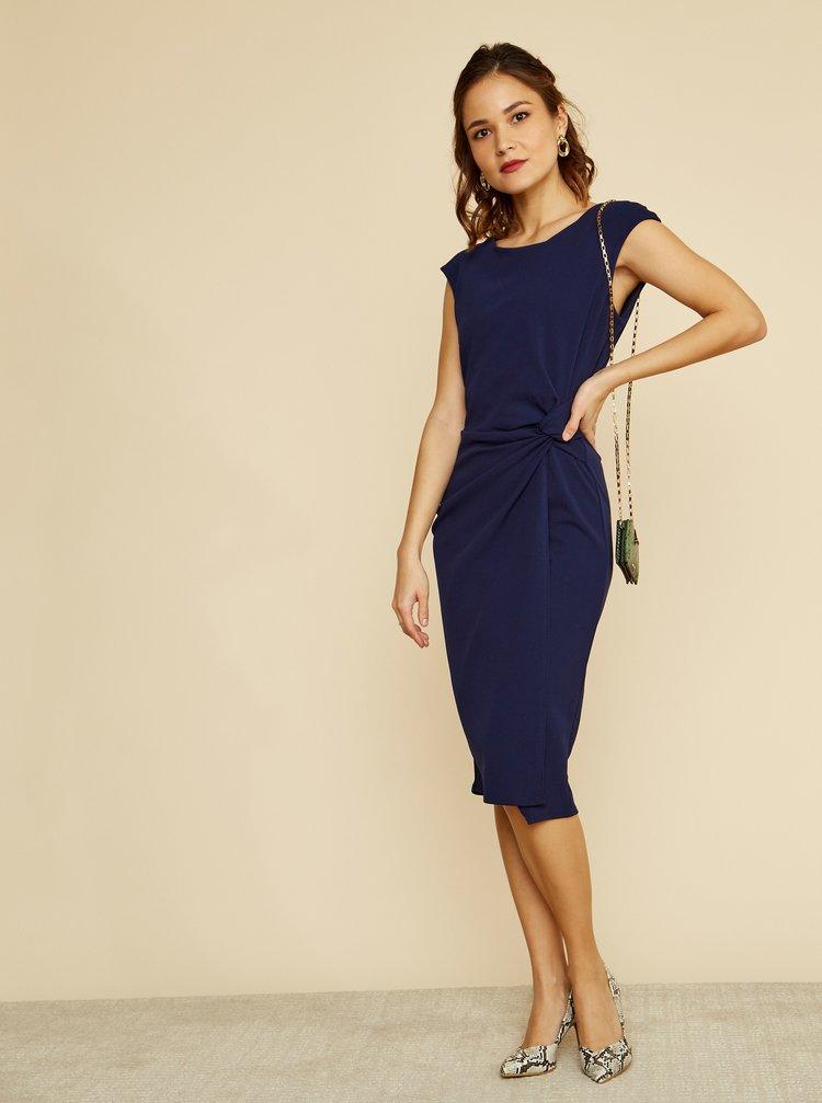 Tmavě modré pouzdrové šaty ZOOT Lauren