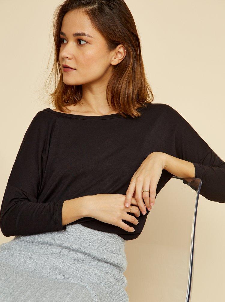 Černé dámské volné tričko ZOOT Baseline Leticia