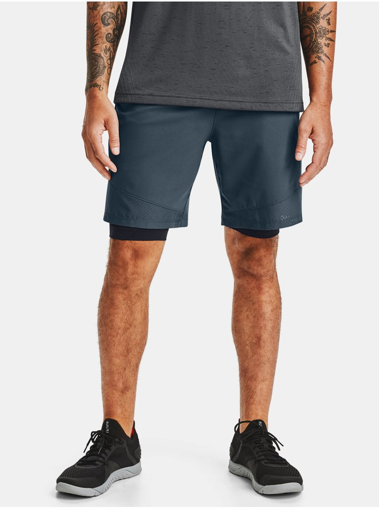Modré kraťasy Under Armour Vanish Woven Shorts