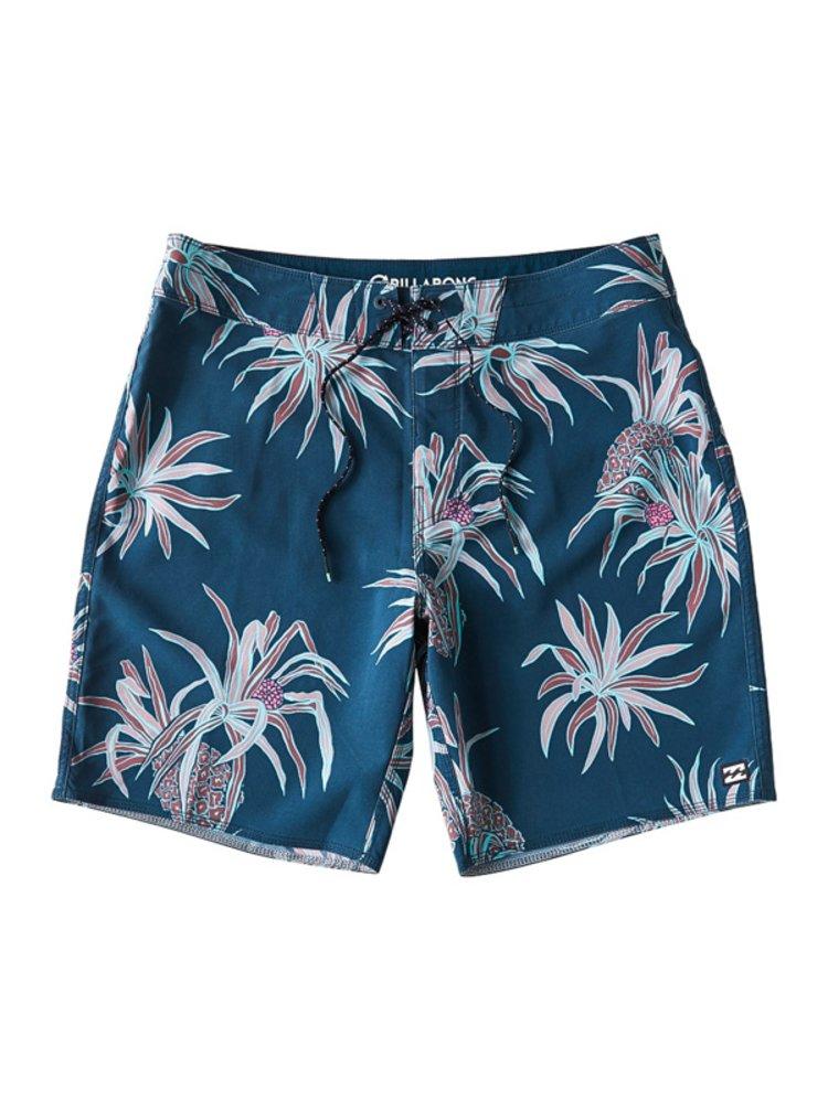 Billabong SUNDAYS PRO dark blue pánské kraťasové plavky - modrá