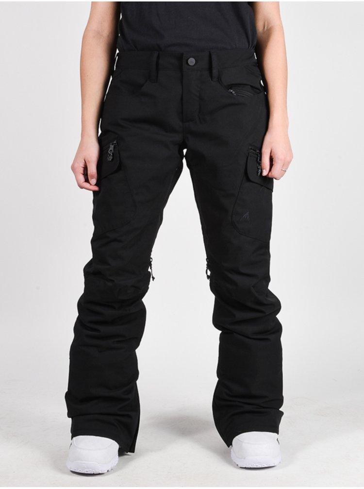 Burton GLORIA INS TRUE B dámské černé snowboardové kalhoty