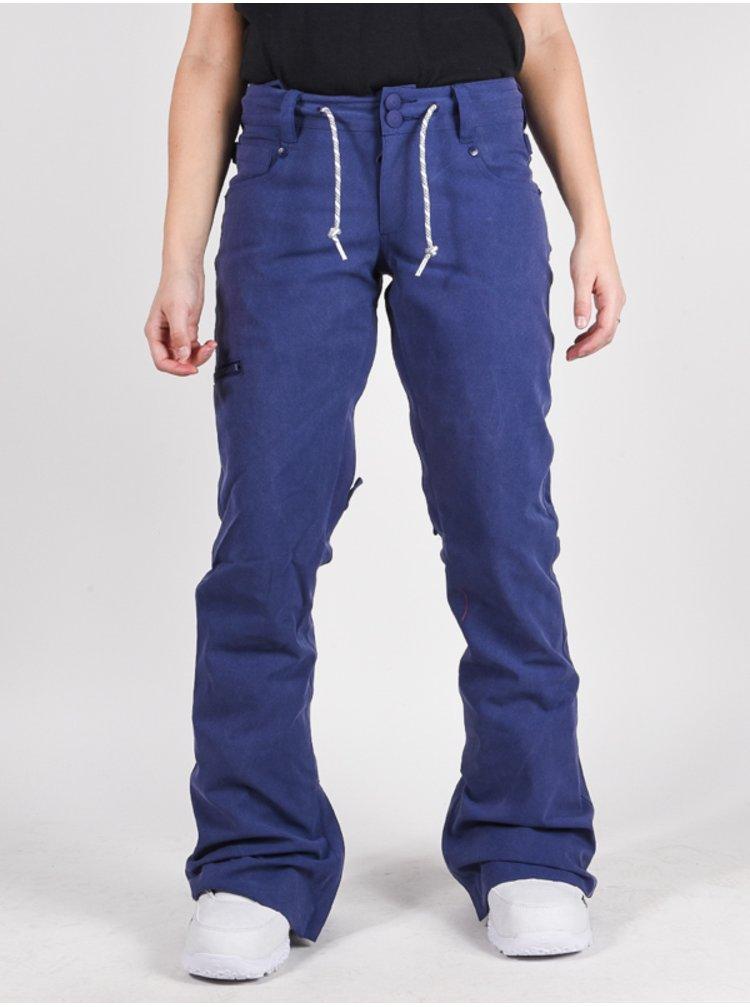 Dc VIVA BIO WASH BLUE RIBBON dámské zimní kalhoty - modrá