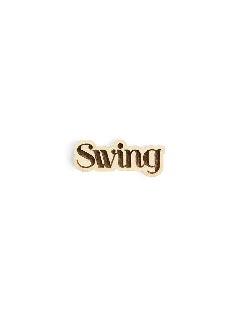 Dřevěná ozdoba do klopy Swing Lapel BeWooden