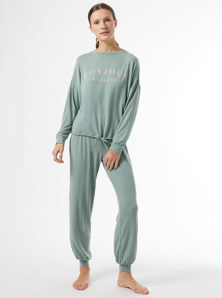 Světle zelené pyžamo Dorothy Perkins