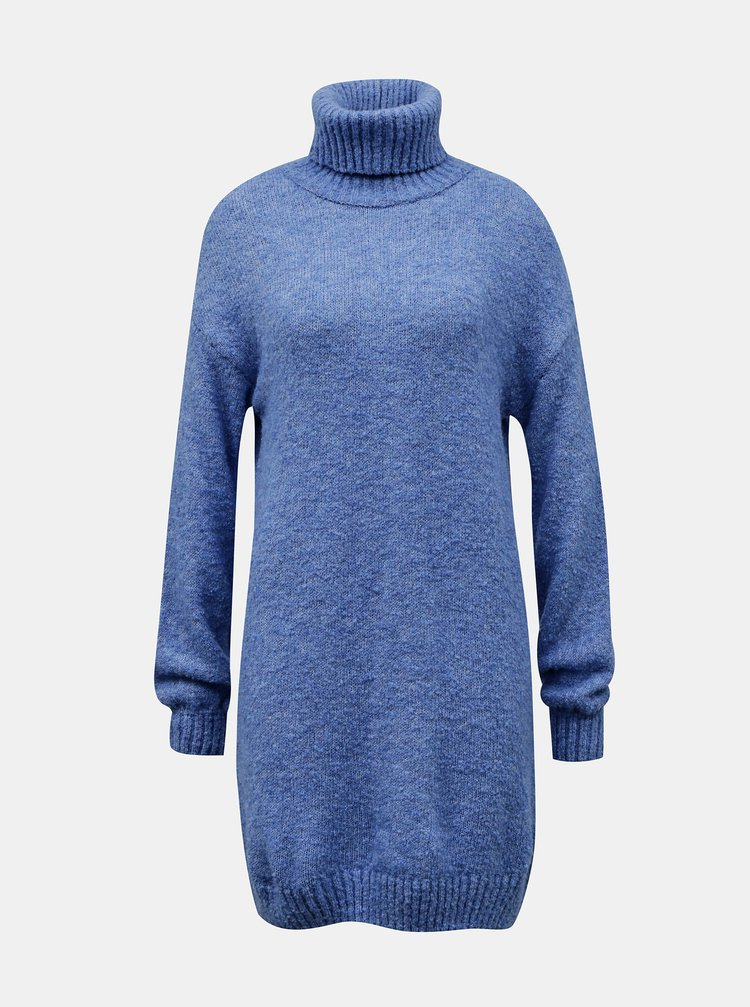 Modré svetrové šaty TALLY WEiJL