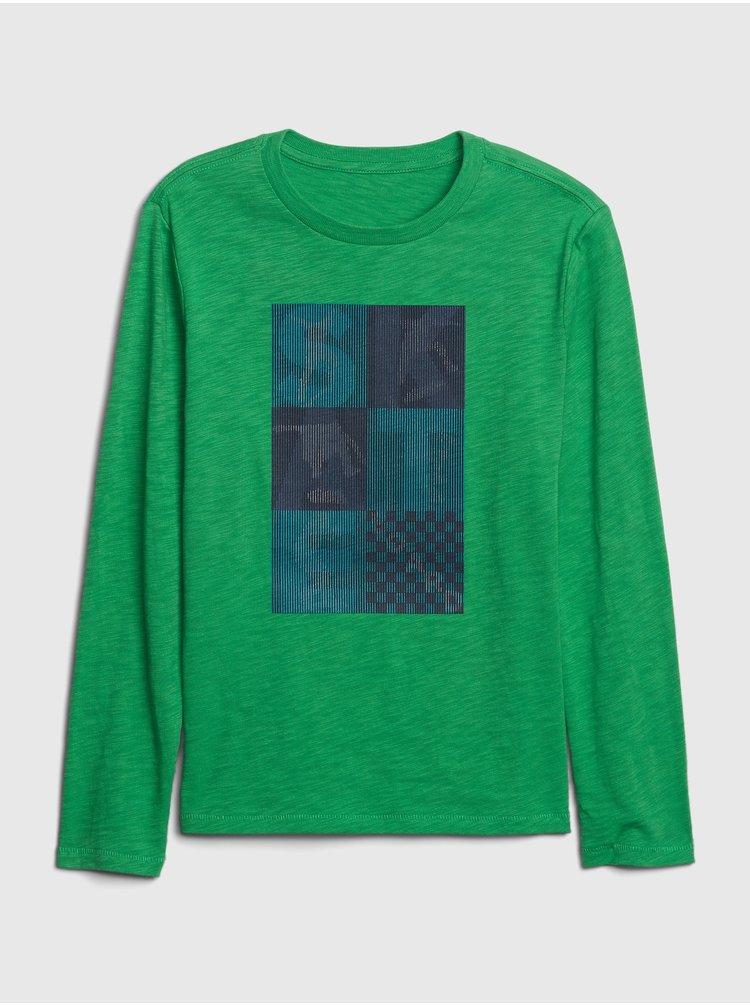 Zelené klučičí tričko GAP