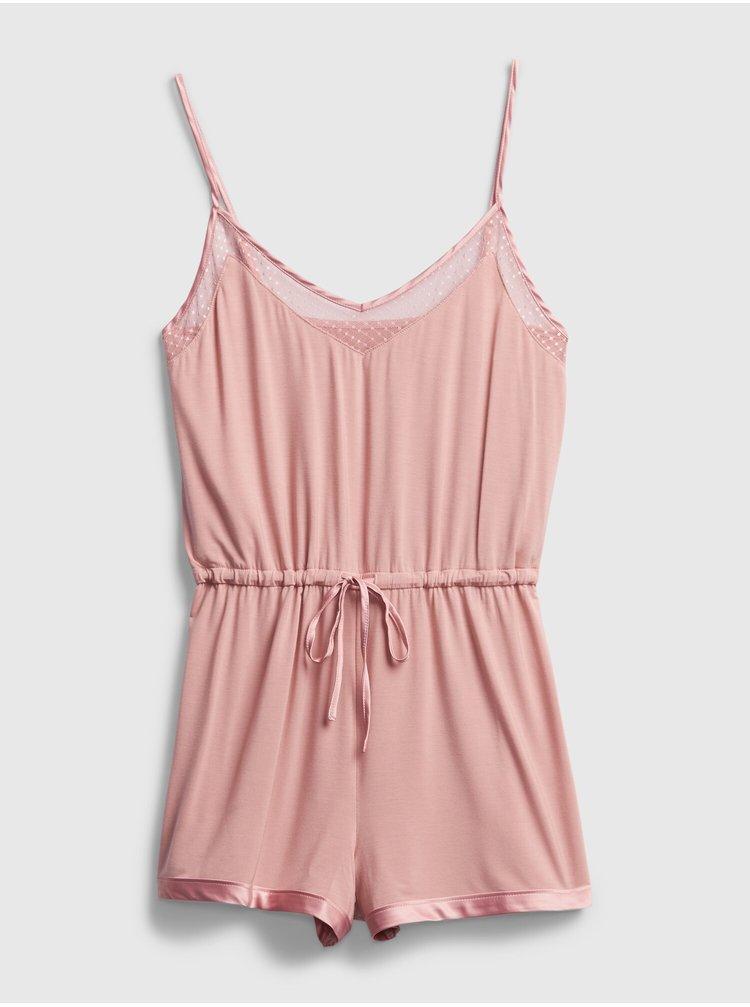 Růžové dámské pyžamo GAP