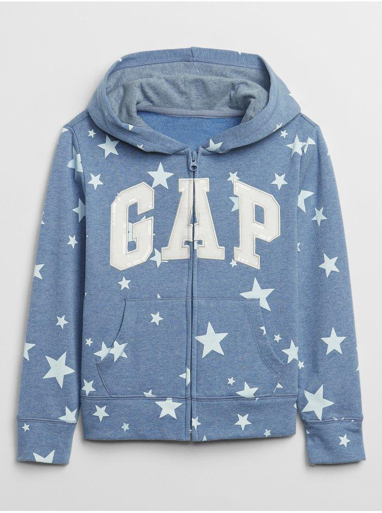 Mikina GAP Logo Modrá