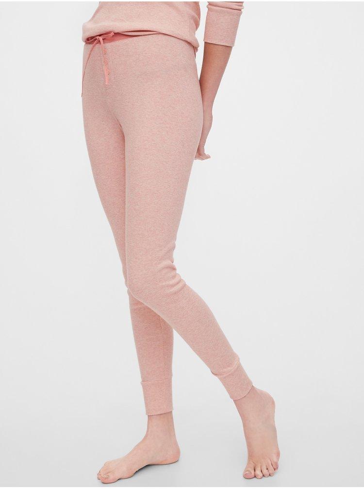 Růžové dámské pyžamové kalhoty GAP