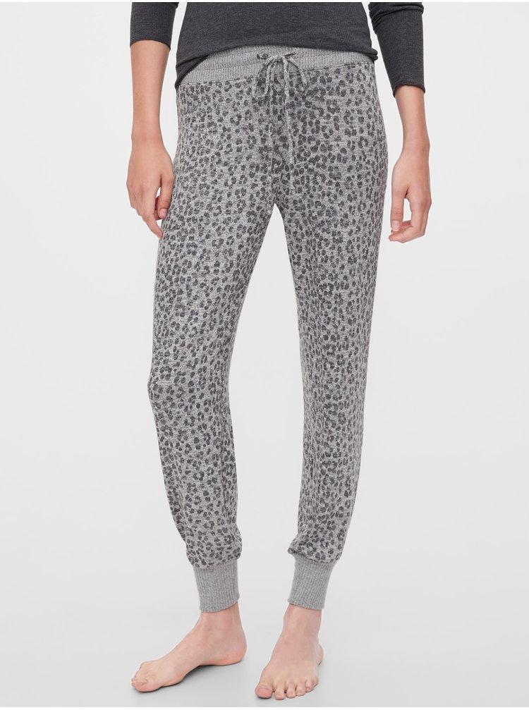 Šedé dámske pyžamové nohavice GAP