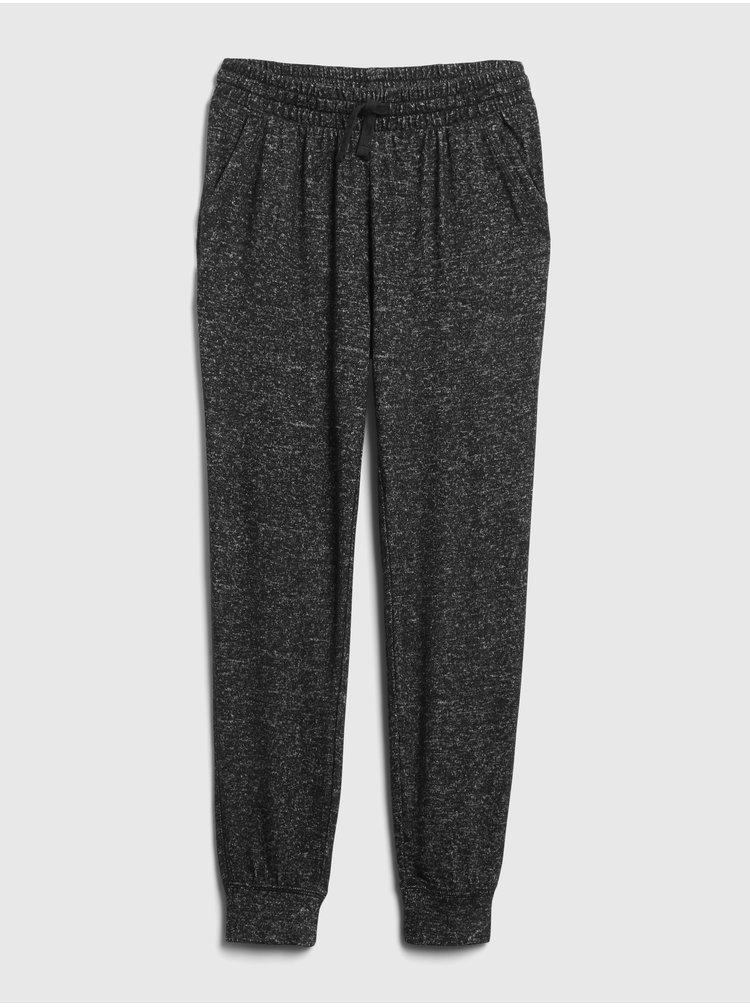 Čierne dievčenské nohavice GAP