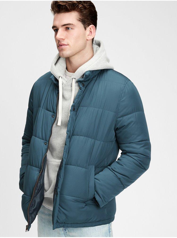 Modrá pánska bunda GAP