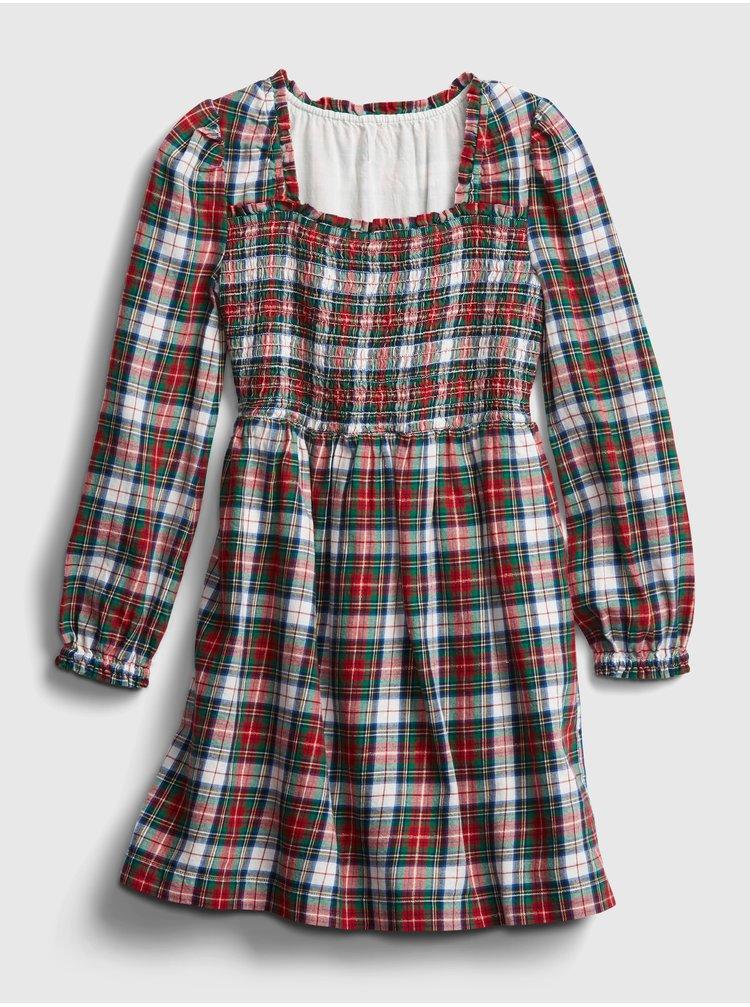 Farebné dievčenské šaty GAP