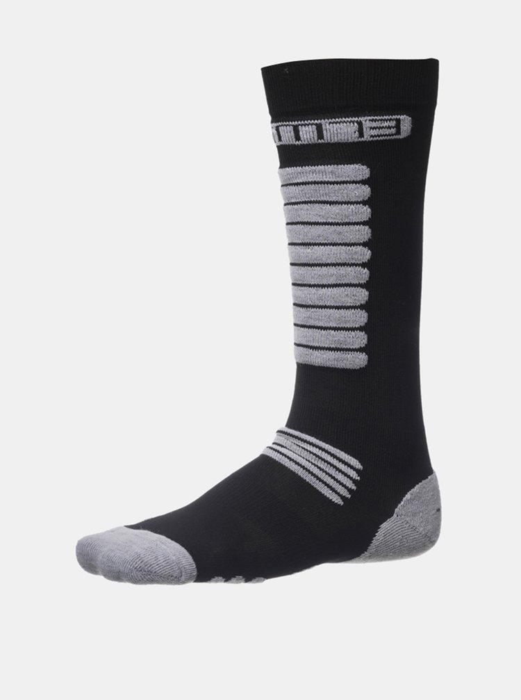 Čierne dámske vysoké ponožky SAM 73