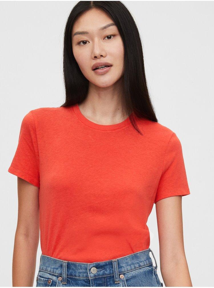 Červené dámské tričko GAP