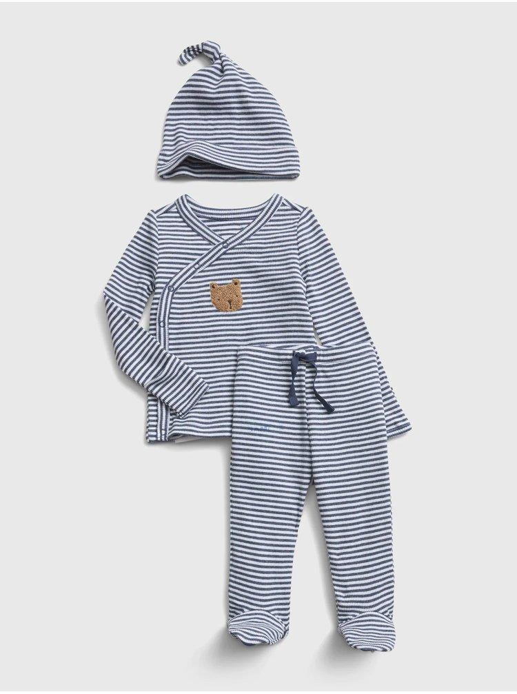 Modrá chlapčenská sada GAP Kimono outfit