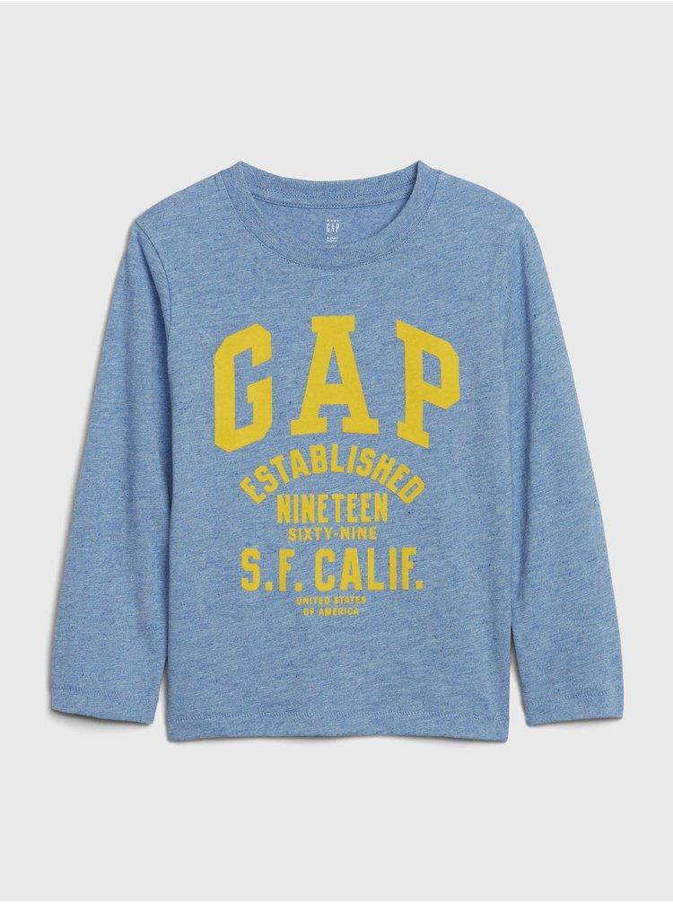 Modré chlapčenské tričko GAP Logo