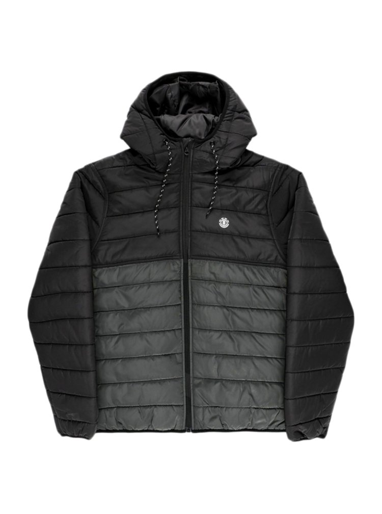 Element ALDER PUFF FUNDAMENT ASPHALT zimní pánská bunda - černá