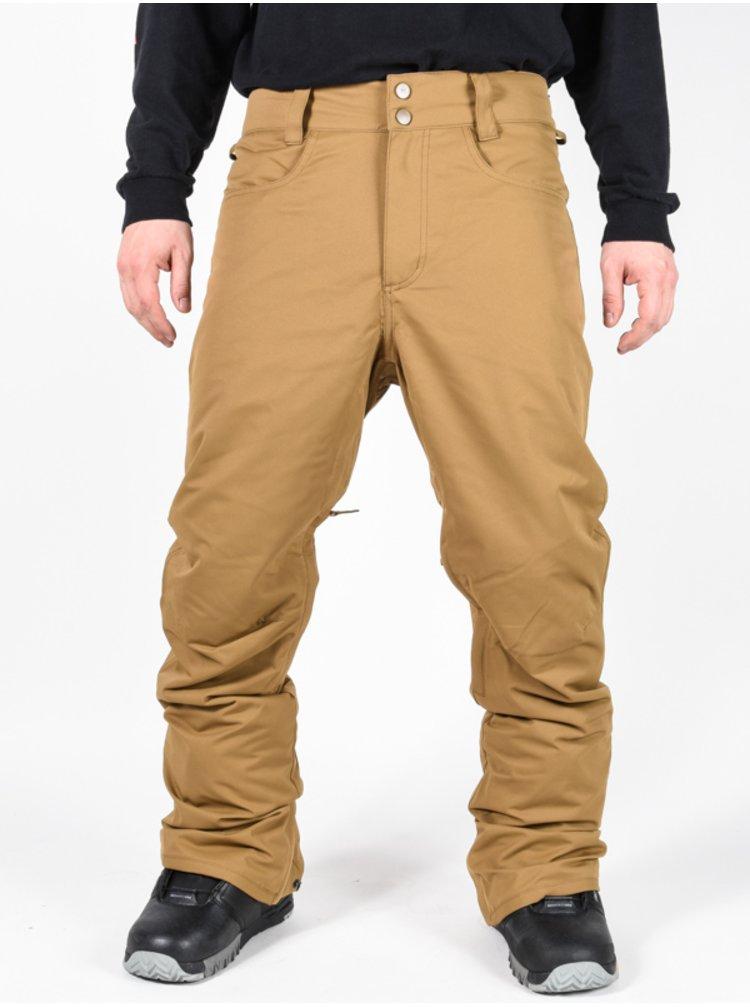 Billabong OUTSIDER ERMINE pánské zimní kalhoty - béžová