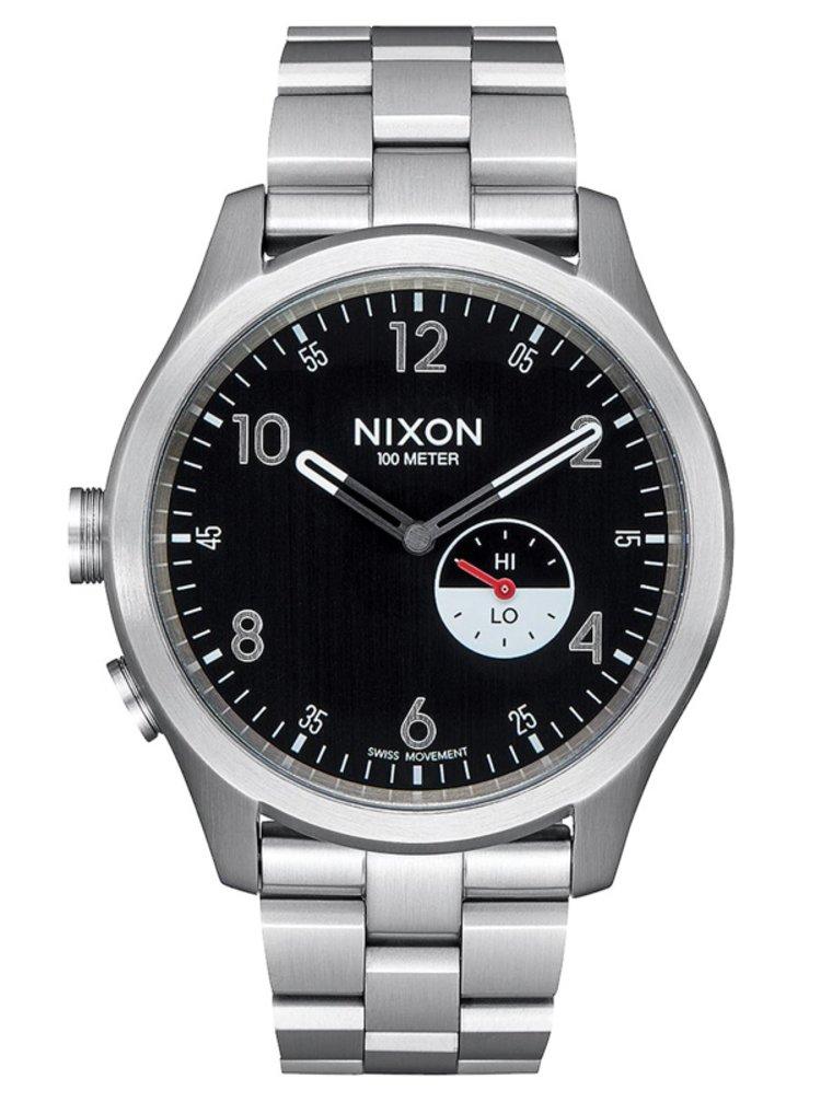 Nixon BEACON black analogové sportovní hodinky