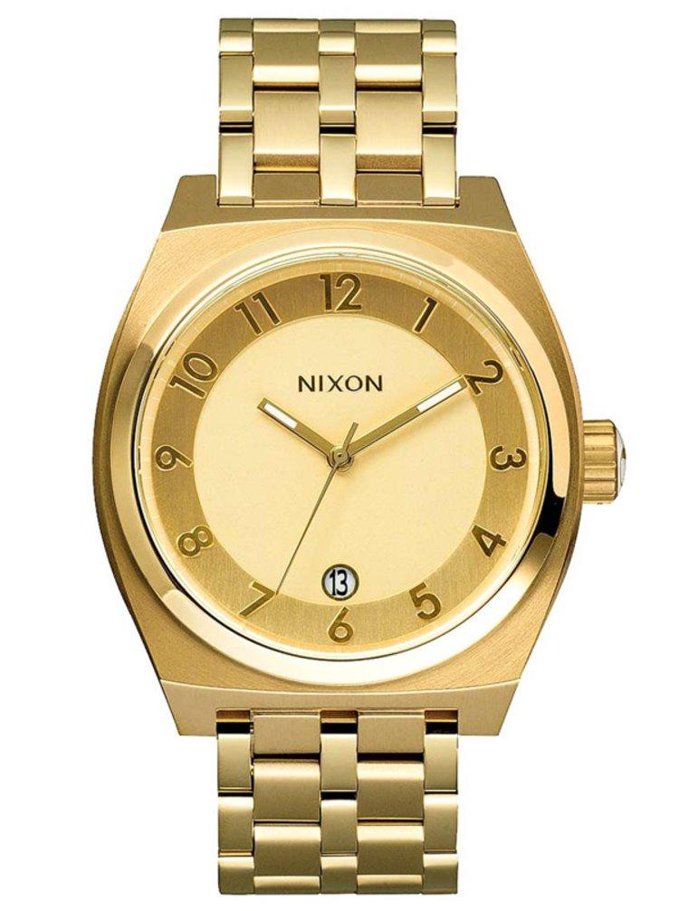 Nixon MONOPOLY ALLGOLD analogové sportovní hodinky - zlatá barva