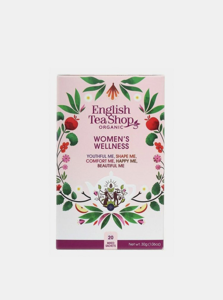 Sada čajov Dámsky Wellness English Tea Shop 20 ks