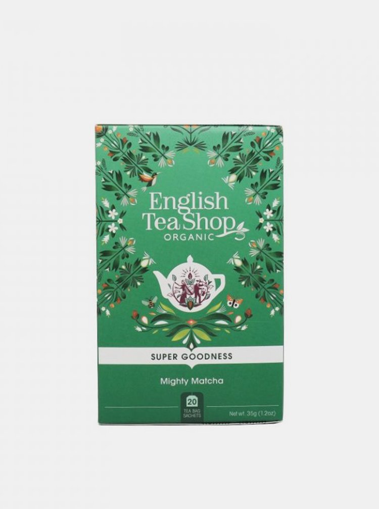 Čaj Silná matcha English Tea Shop 20 ks