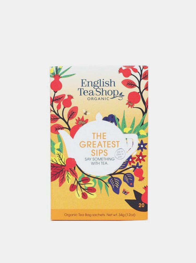 English Tea Shop Mix čajov Tie najlepšie dúšky 40 g, 20 ks bio English Tea Shop