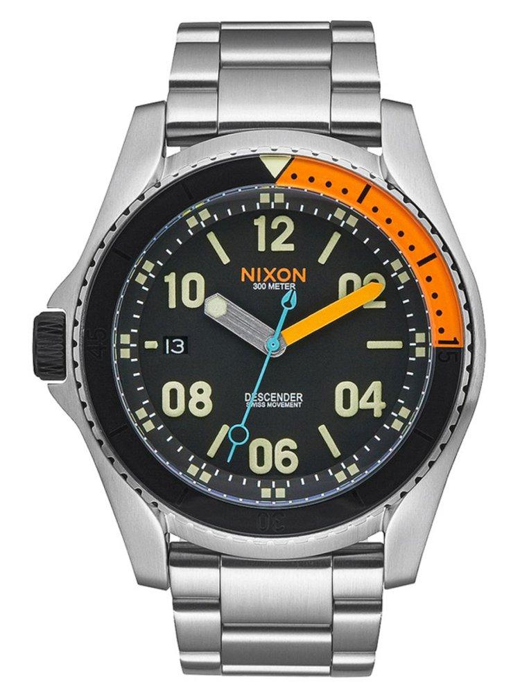 Nixon DESCENDER BLACKMULTI analogové sportovní hodinky