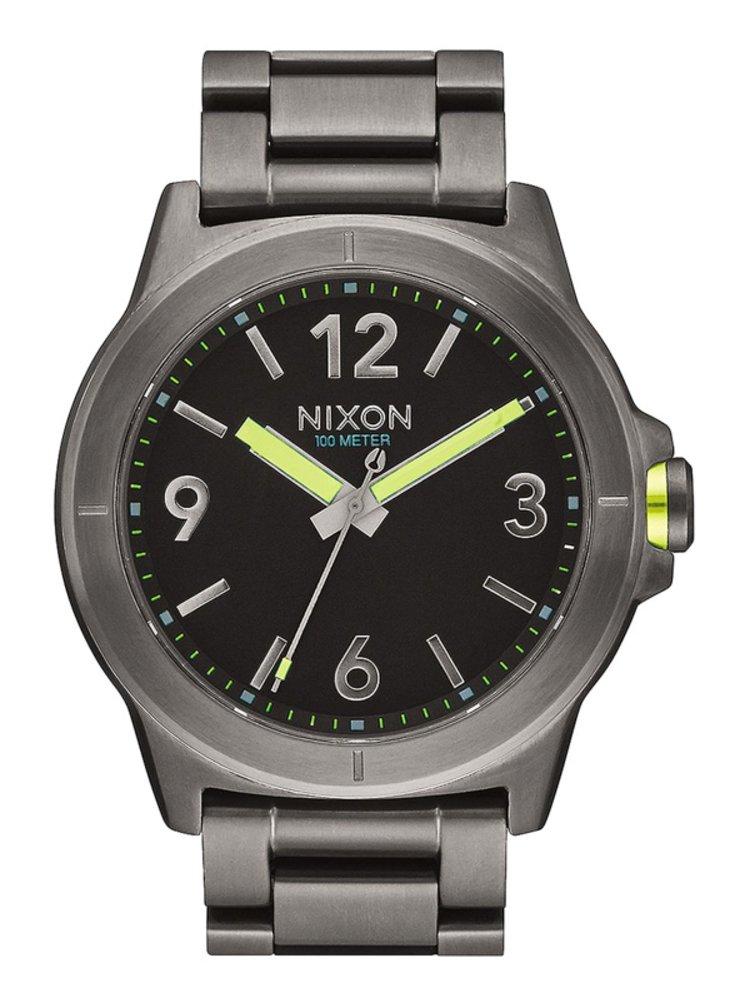 Nixon CARDIFF 43 ALLGUNMETAL analogové sportovní hodinky