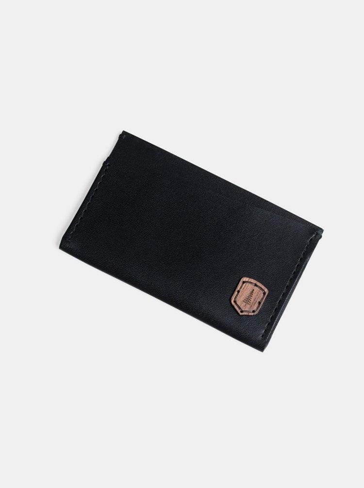 Kožený vizitkovník Nox Card Holder BeWooden