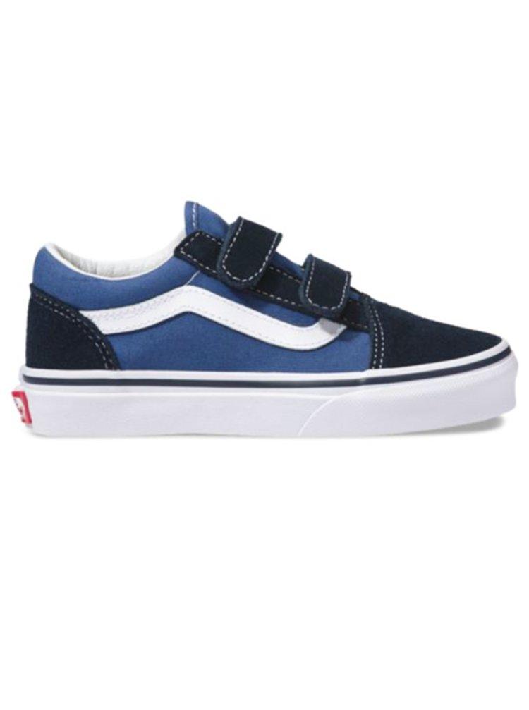 Vans Old Skool V NAVY letní boty dětské - modrá