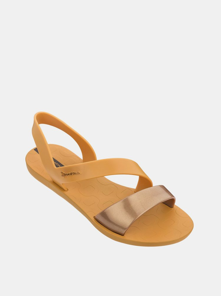 Ipanema horčicové sandále Vibe Sandal Yellow/Gold