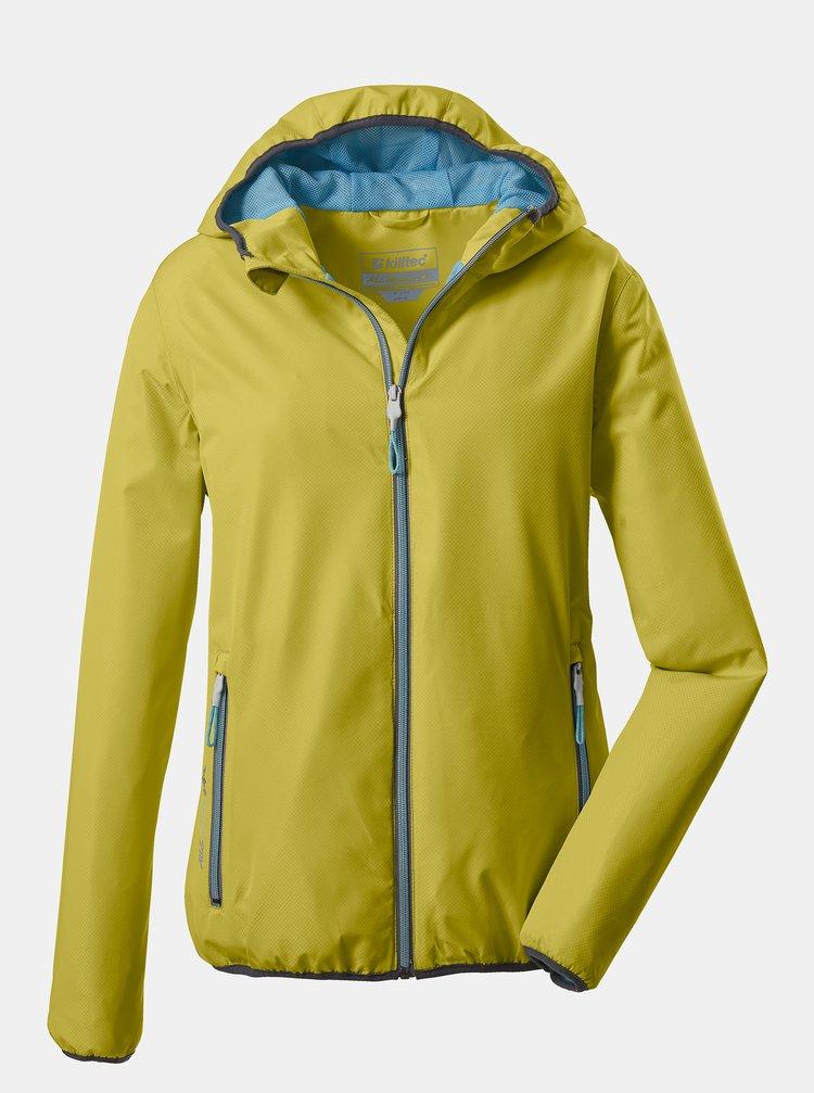 Žltá dámska bunda killtec