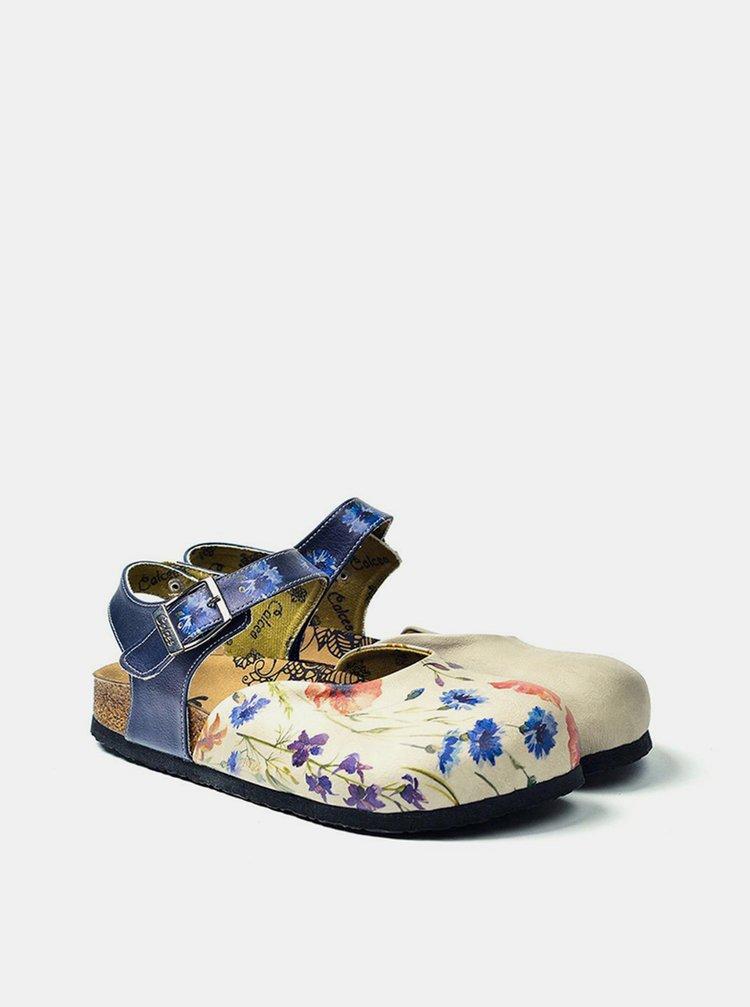Calceo modré sandály Classic Sandals Wildflowers