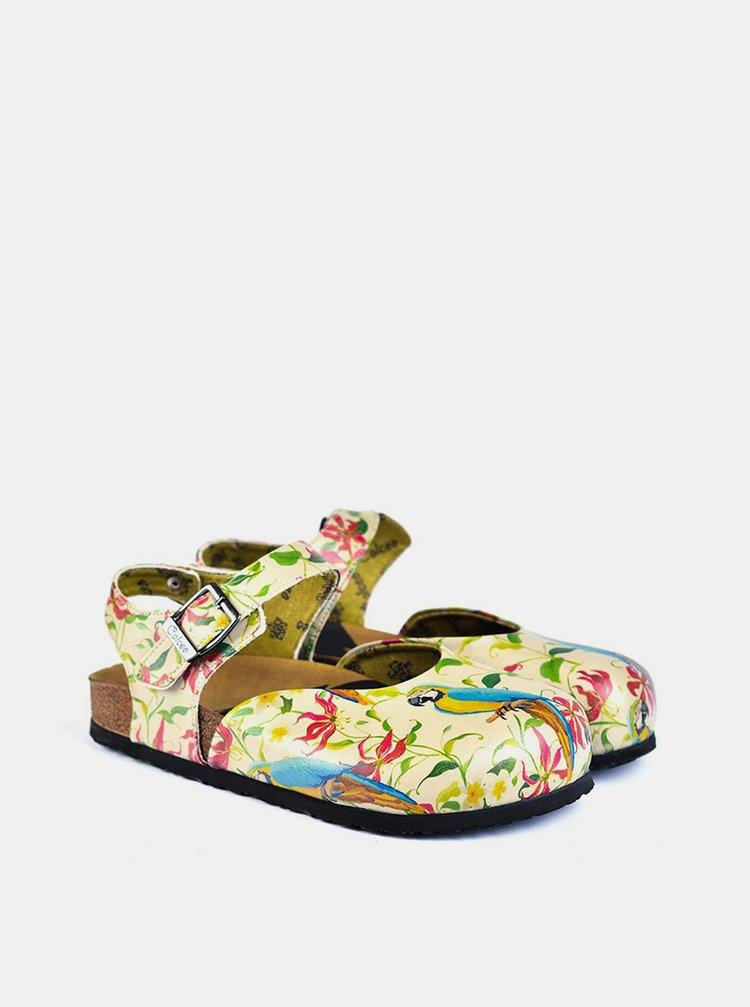 Calceo barevné sandály Classic Sandals Parrot