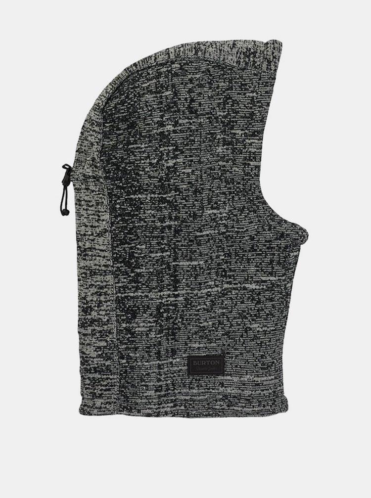 Burton HAMPSHIRE TRUE BLACK pánská čepice - šedá