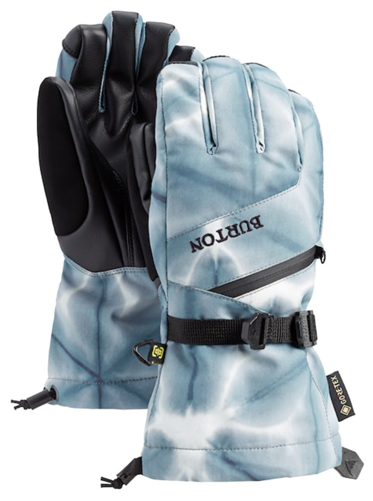 Burton GORE BLK DAILOLA SHIBORI zimní prstové rukavice - černá