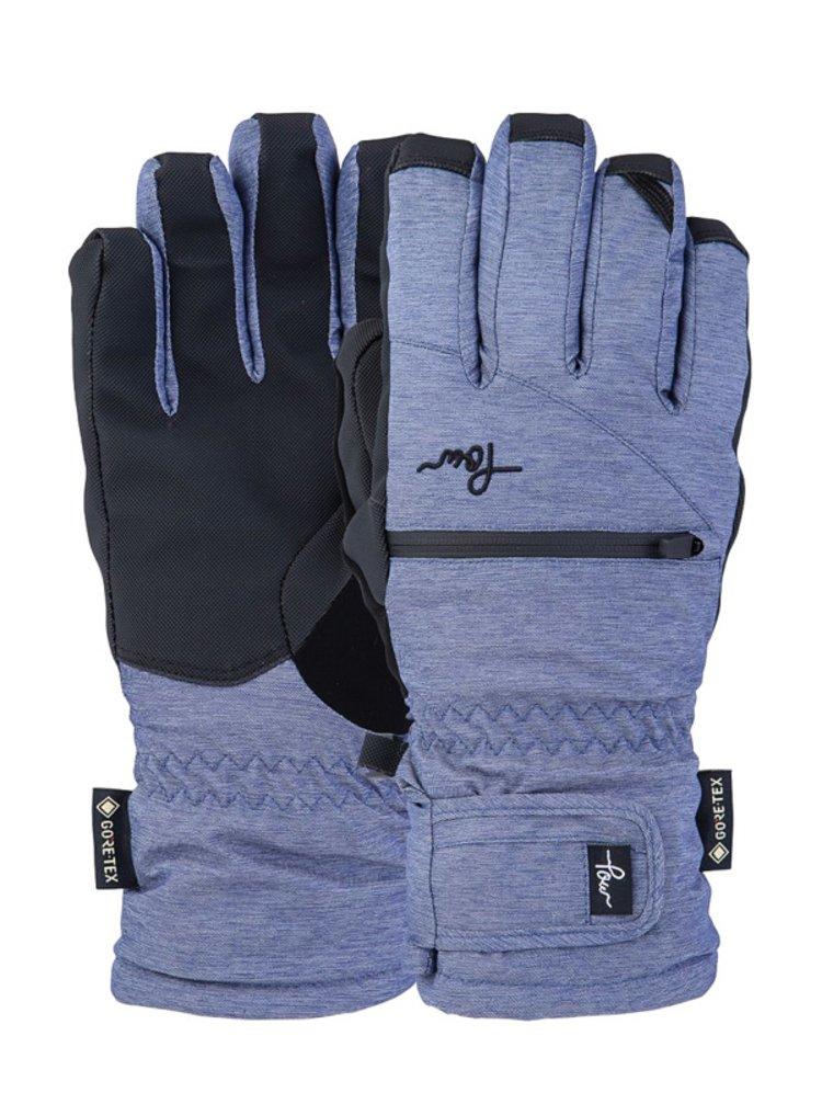 POW Cascadia GTX Short G BLUE NIGHTS zimní prstové rukavice - šedá