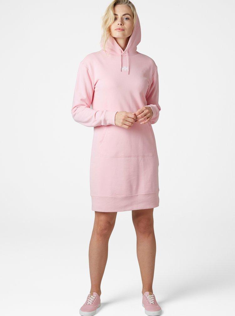Ružové mikinové šaty HELLY HANSEN Active