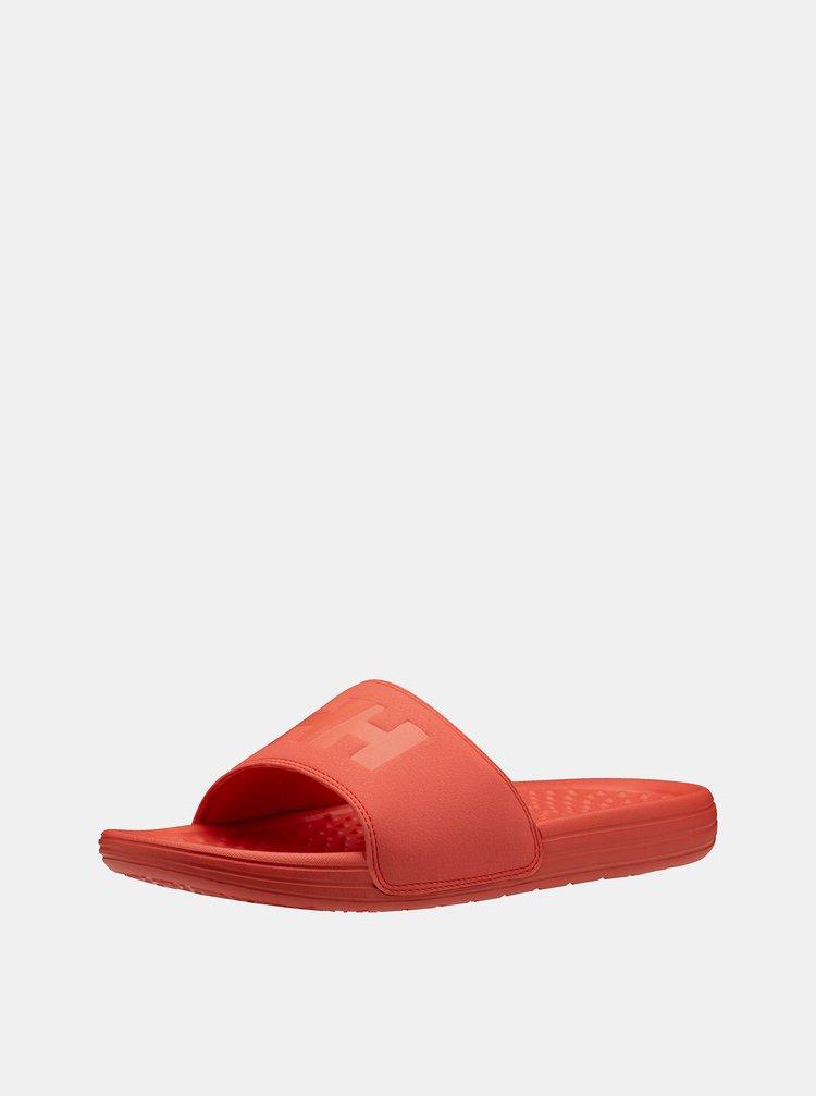 Oranžové dámské pantofle HELLY HANSEN