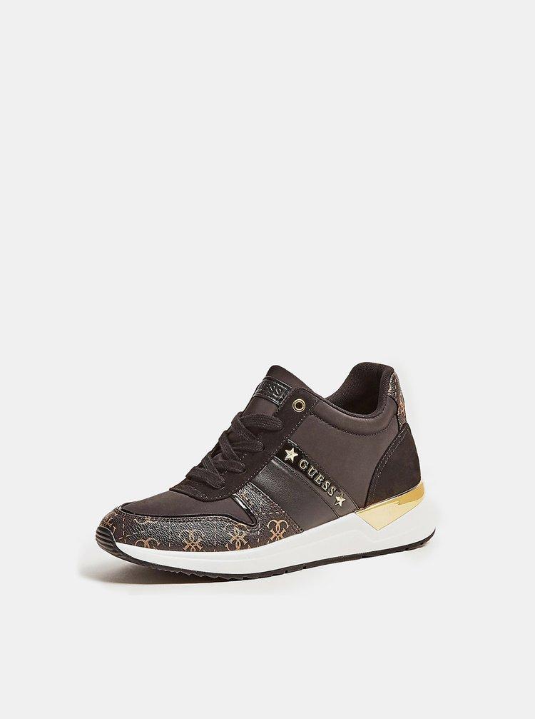 Guess černé tenisky Ravyn 4G Logo Running Shoe