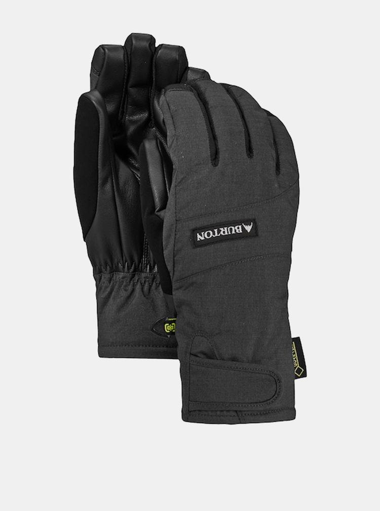 Burton REVERB GORE TRUE BLACK zimní prstové rukavice - šedá