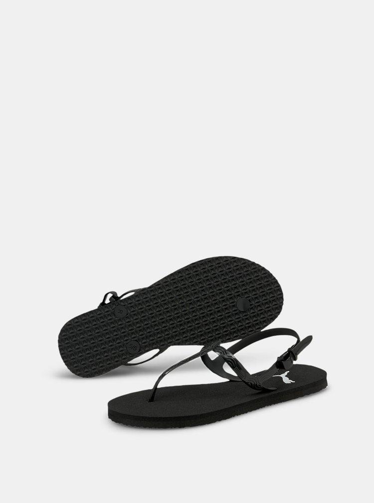 Černé dámské sandály Puma