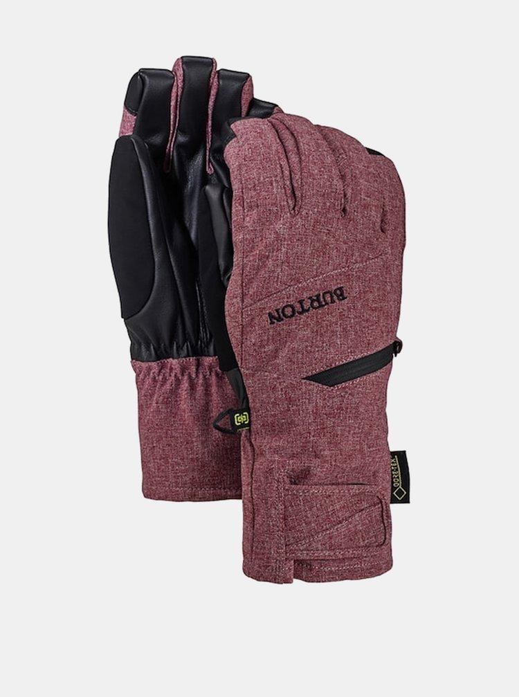 Burton GORE PORT ROYAL HEATHER zimní prstové rukavice - červená