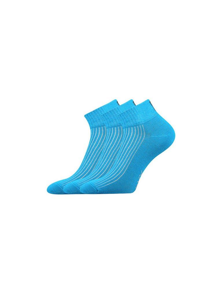 3PACK ponožky Voxx tyrkysové