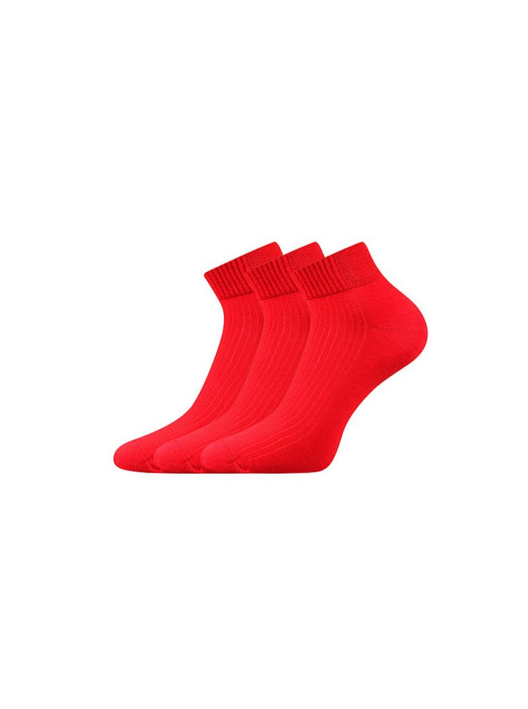 3PACK ponožky Voxx červené