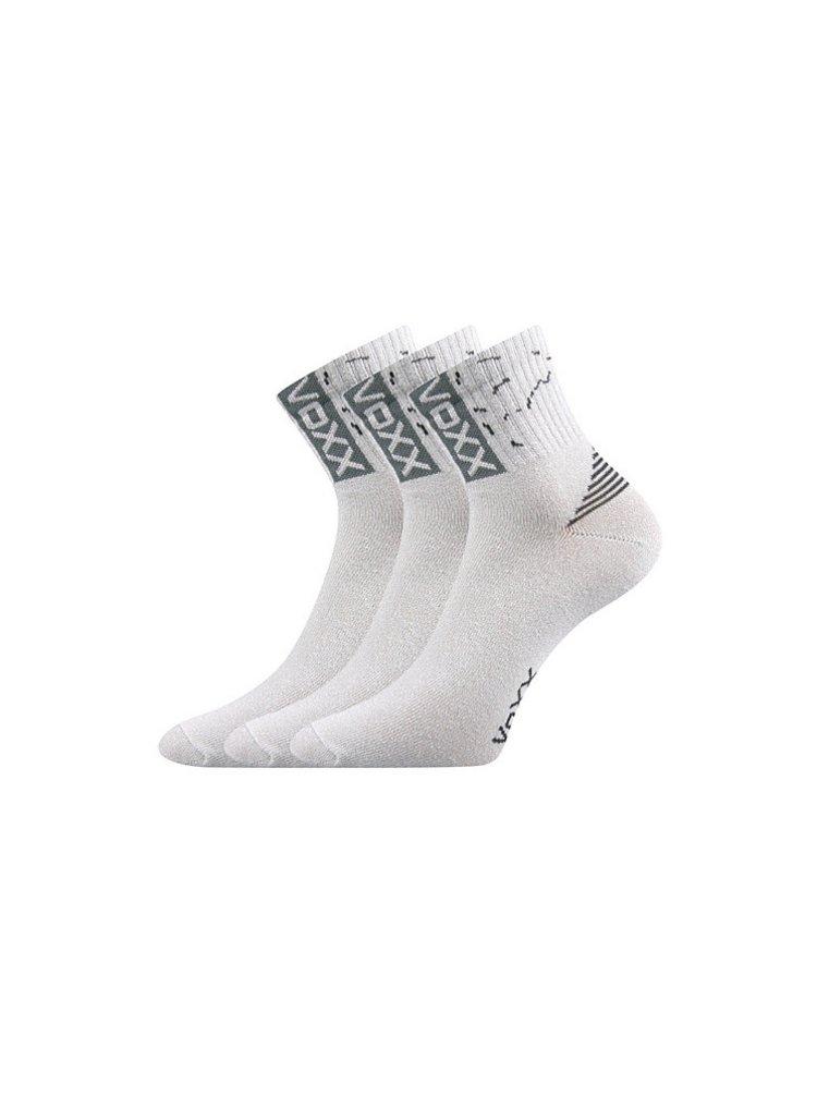 3PACK ponožky Voxx světle šedé